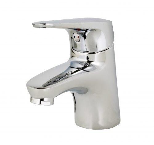 Vòi lavabo 01 lỗ nóng lạnh Mirolin MK 501