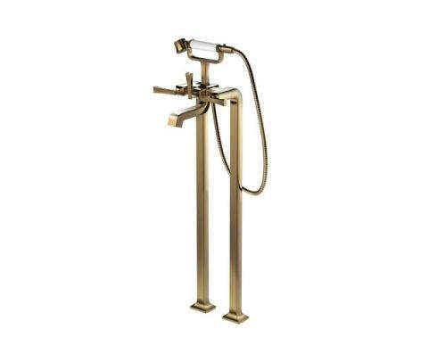 Vòi xả bồn đặt sàn nóng lạnh kèm sen tắm ToTo DM209CF#PG