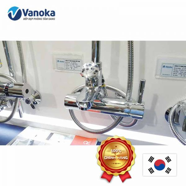 Vòi sen tắm cây Hàn Quốc Ecofa E 860