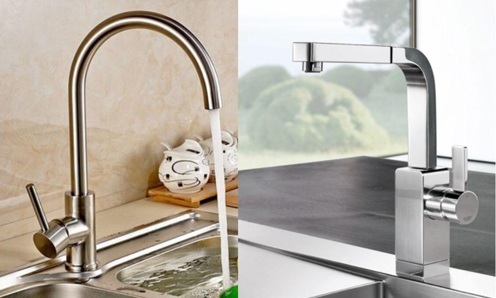 Lắp đặt vòi rửa bát sử dụng cho gia đình tăng thêm sự tiện nghi cần có