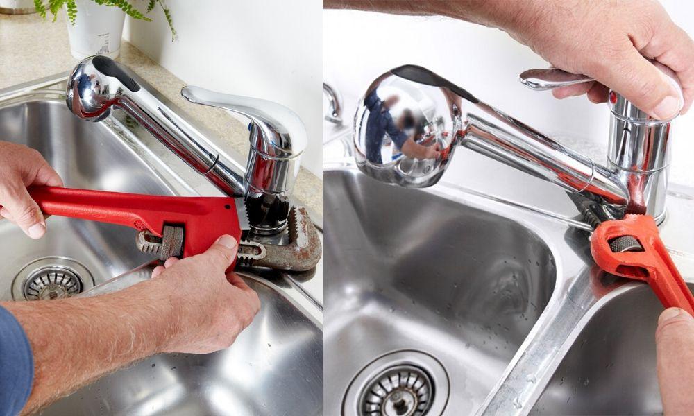Tự sửa chữa sửa vòi nước bồn rửa bát bị rò rỉ