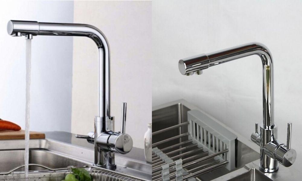 Vòi nước rửa bát nóng lạnh đang được rất nhiều gia đình lựa chọn sử dụng