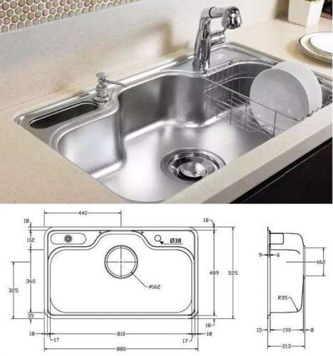 Làm cách nào chọn chậu rửa bát kích thước chuẩn thumbnail