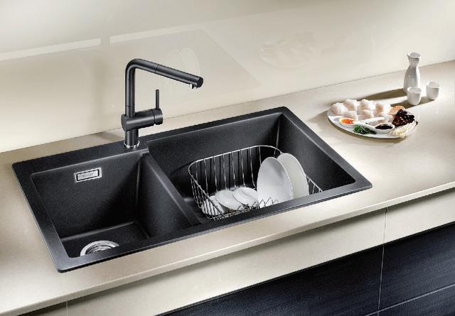 Chậu rửa bát Nano có khả năng chống bám bấn, chống trầy xước hiệu quả hơn so với chậu rửa bát thông thường