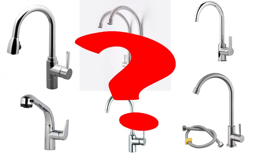 Mách bạn các loại vòi rửa bát chính hãng.