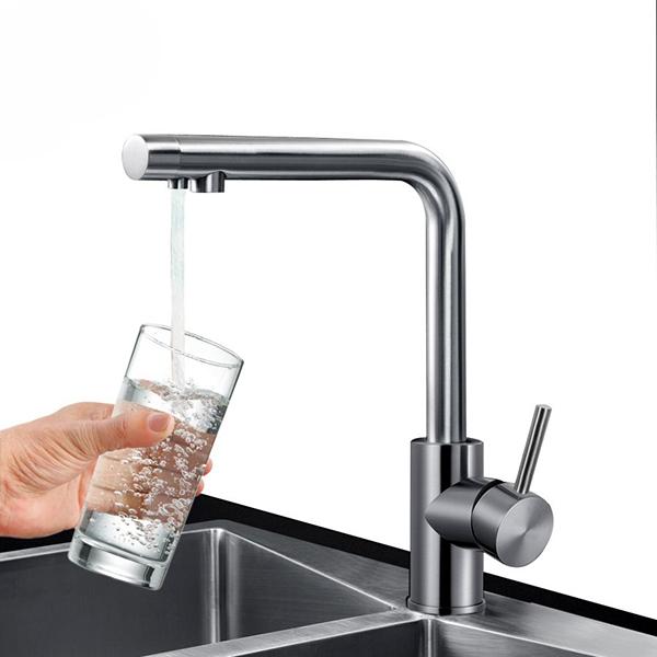 Vòi rửa bát 3 đường nước